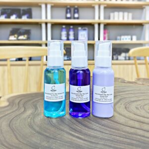 Set sample Jax Wax làm sạch, dầu lau sáp, dưỡng sau tẩy lông 50ml