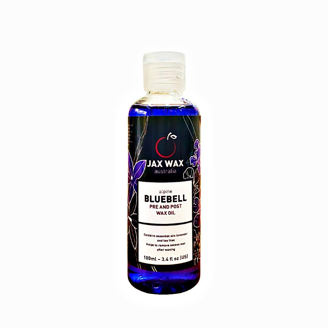 Dầu lau sáp wax lông Jax Wax Bluebell 100ml