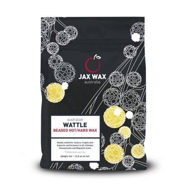 Sáp wax nóng Jax Wax Wattle 500g dạng hạt