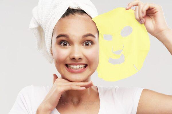 Mặt nạ nghệ miếng sáng da, xẹp mụn, phục hồi da