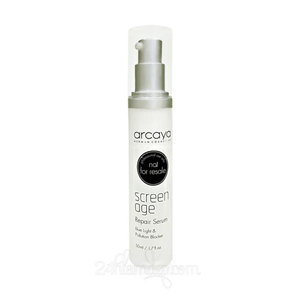 Arcaya Screenage Repair Serum - Tinh chất tái tạo da, ngăn chặn tác hại của tia UV và ánh sáng xanh