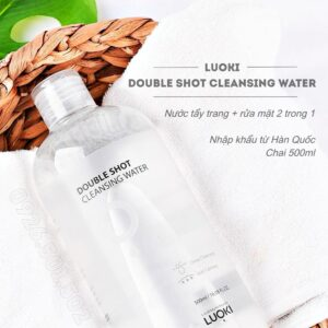 Nước tẩy trang - rửa mặt LUOKI DOUBLE SHOT CLEANSING WATER