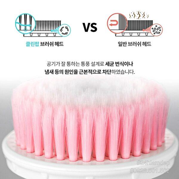 Đầu lông Máy rửa mặt CleanPOP 4D Hàn Quốc