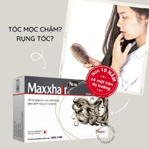 Maxxhair: dài tóc nhanh, ngăn rụng, kích thích mọc tóc mới